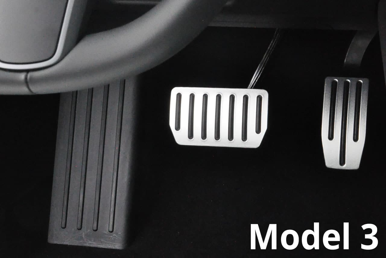 Premium Accelerator and Brake pedal set for Model 3